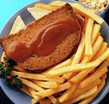 отличный гарнир - жареный картофель