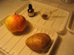 йод и картошка